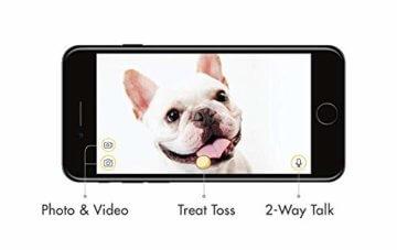 Furbo Hunde - Katzen Kamera Haustierkamera mit Leckerli Ausgabe